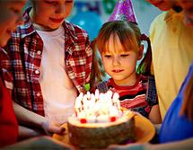 noleggio attrezzature per eventi privati, feste di compleanno
