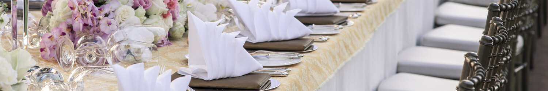 Noleggio attrezzature catering per eventi