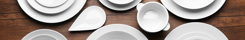 Noleggio sottopiatto plexiglass bianco per Catering