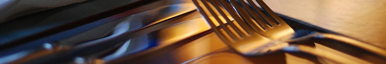 Noleggio forchetta pesce argento per Catering