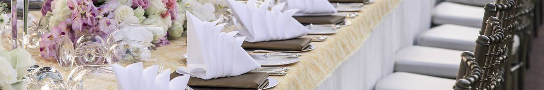 Noleggio articoli catering per eventi
