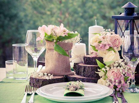 Noleggio attrezzature catering per cerimonie