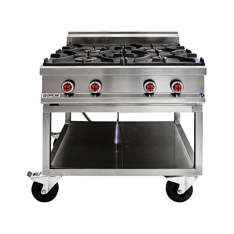 noleggio cucina 4 fuochi | attrezzatura catering - Cucina Quattro Fuochi