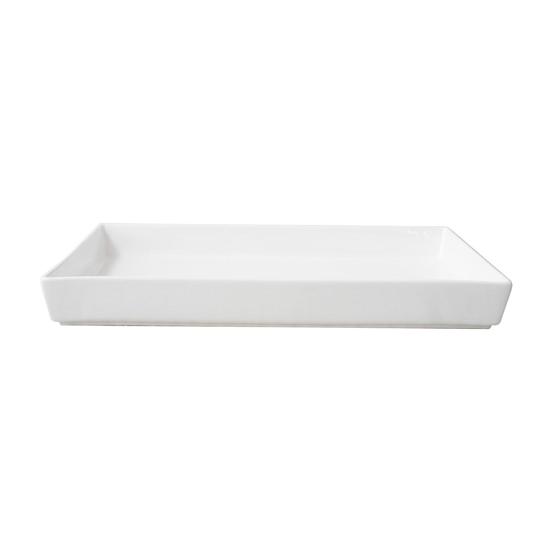 Noleggio Teglia Rettangolare Porcellana cm.51x37 h.cm.6