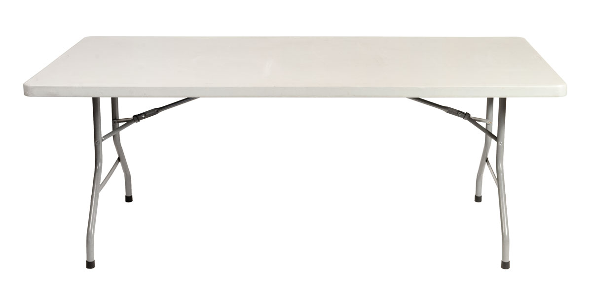 Noleggio tavolo rettangolare policarbonato per catering - Tavolo policarbonato ...