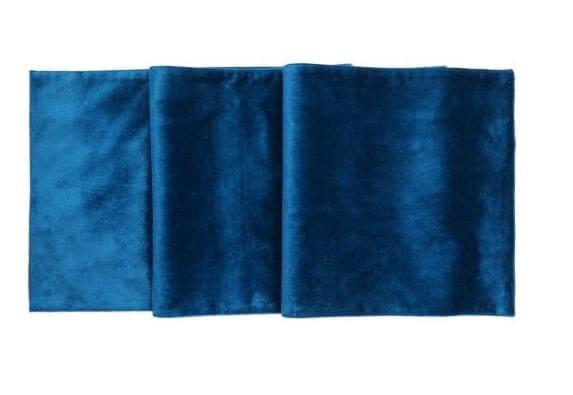 Noleggio Tovaglia Velluto Ø cm.330 Blu
