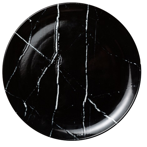 Noleggio Sottopiatto Black Stone Ø cm.31