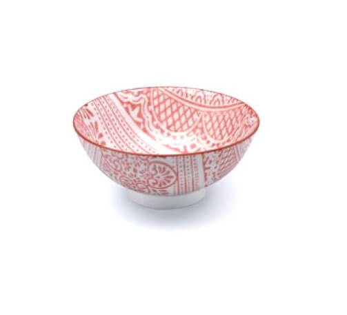 Noleggio Monoporzione Bowl Zafferano Damasco Ø cm.12,5 - Corallo