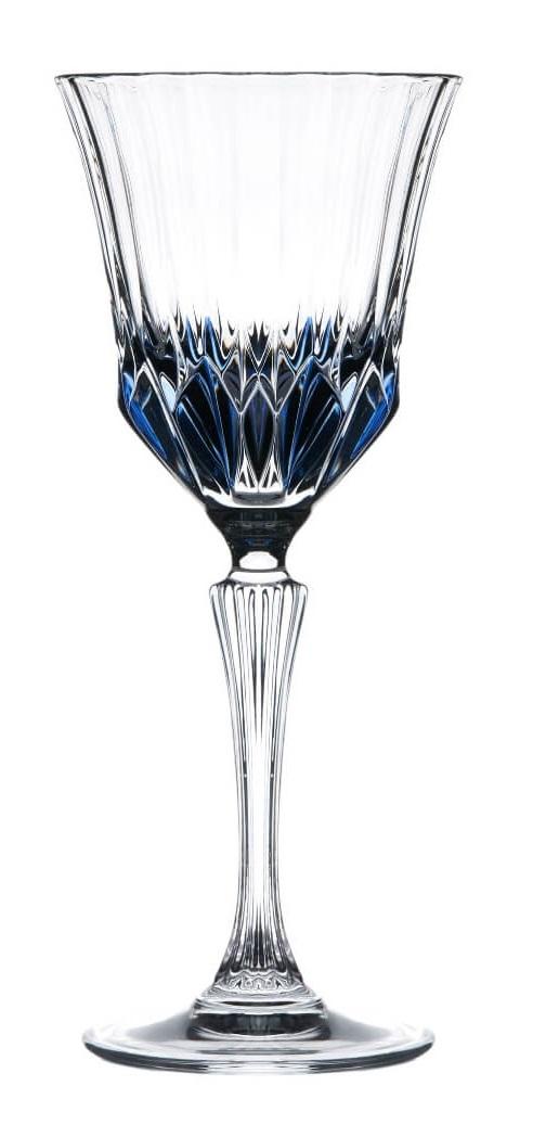 Noleggio Calice Cristallo Retrò Blu Fumè cl.28