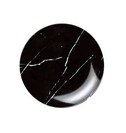 Noleggio Piattino Pane Black Stone Ø cm.14,5