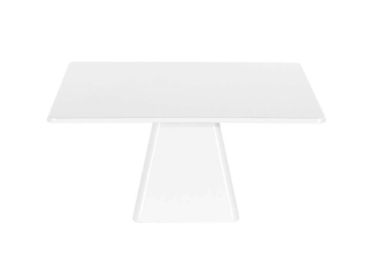 Noleggio Alzata Quadrata Bianca cm.30x30