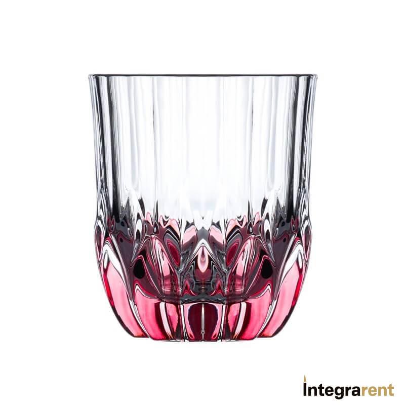 Noleggio Bicchiere Tumbler Retro' Rosso Fumè
