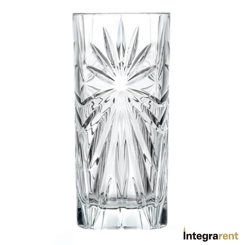 Noleggio Bicchiere Long Drink Cristallo Oasis