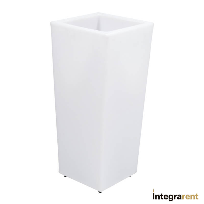 Noleggio Vaso Pe a Led 12 Colori