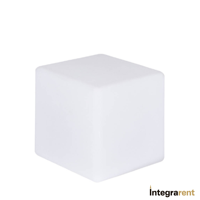 Noleggio Cubo Pe a Led Rgb 12 Colori cm.30x30x30