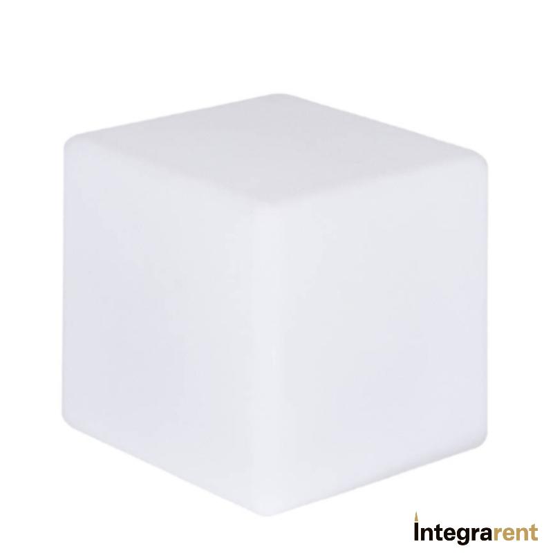 Noleggio Cubo Pe a Led Rgb 12 Colori cm.40x40x40