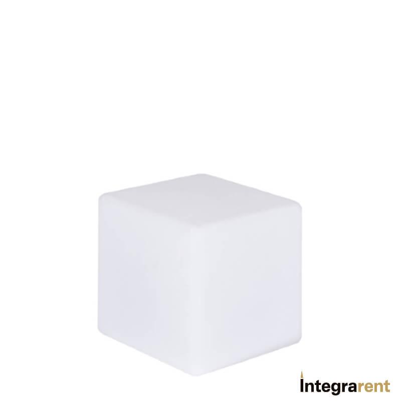 Noleggio Cubo Pe a Led 12 Colori cm.20x20x20