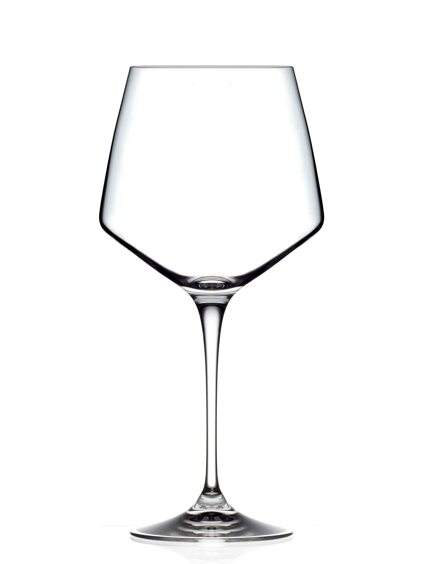 Noleggio Calice Cristallo Aria Burgundy cl. 72