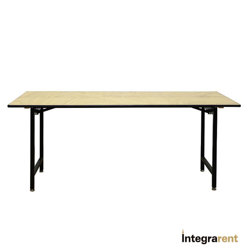 Noleggio Tavolo Rettangolare Legno cm.180x80