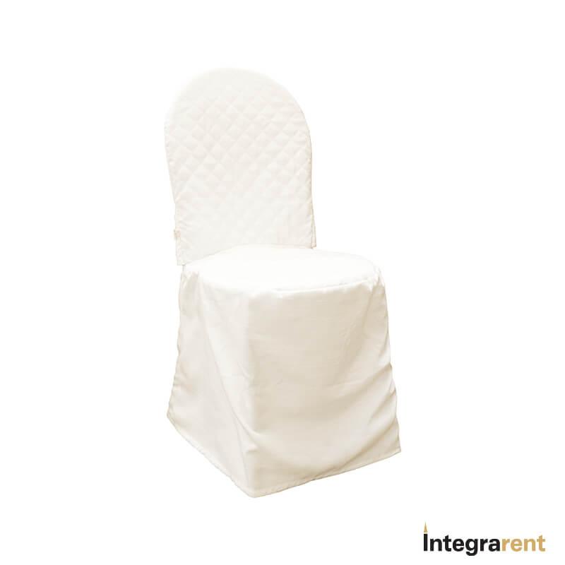 Noleggio Coprisedia Thonet Bianco
