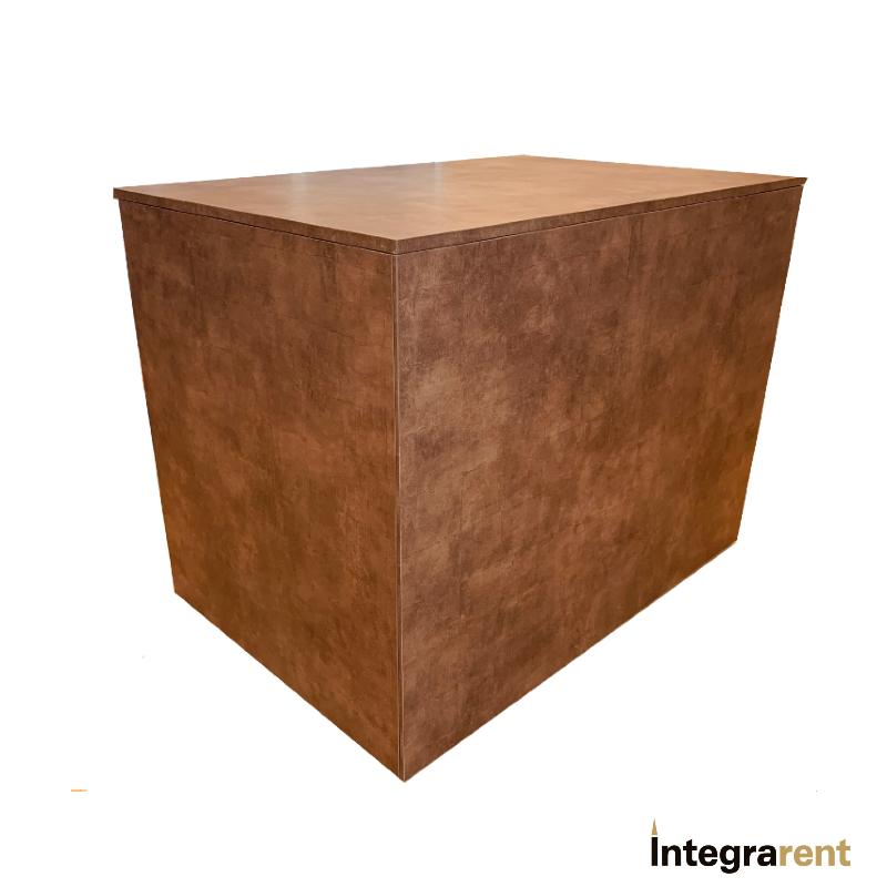 Noleggio Parete Laterale Copper per Bancone Iron