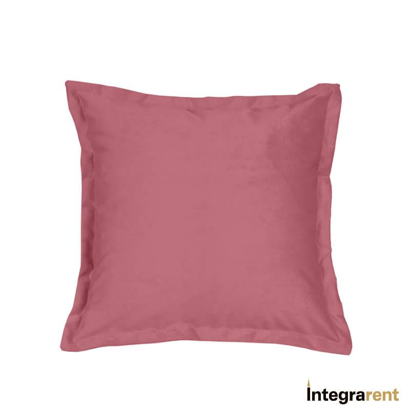 Noleggio Cuscino in Velluto Rosa