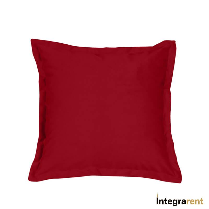 Noleggio Cuscino in Velluto Rosso