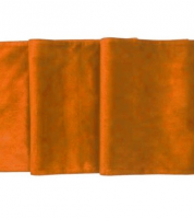 Noleggio Runner Velluto cm. 200x40 Arancione